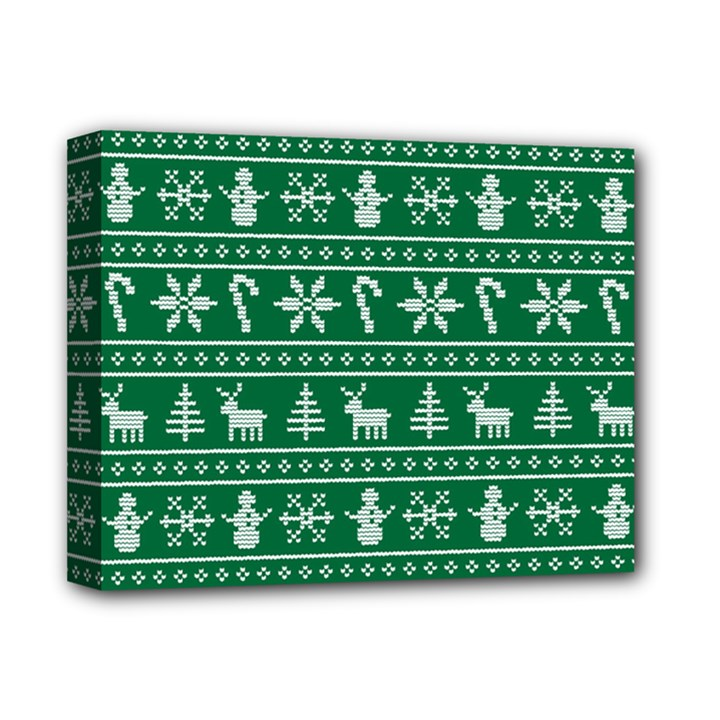Ugly Christmas Deluxe Canvas 14  x 11