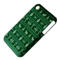 Ugly Christmas Apple iPhone 3G/3GS Hardshell Case (PC+Silicone) View4