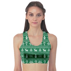 Ugly Christmas Sports Bra