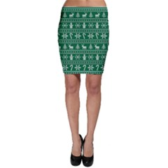 Ugly Christmas Bodycon Skirt