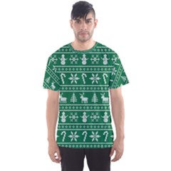 Ugly Christmas Men s Sport Mesh Tee