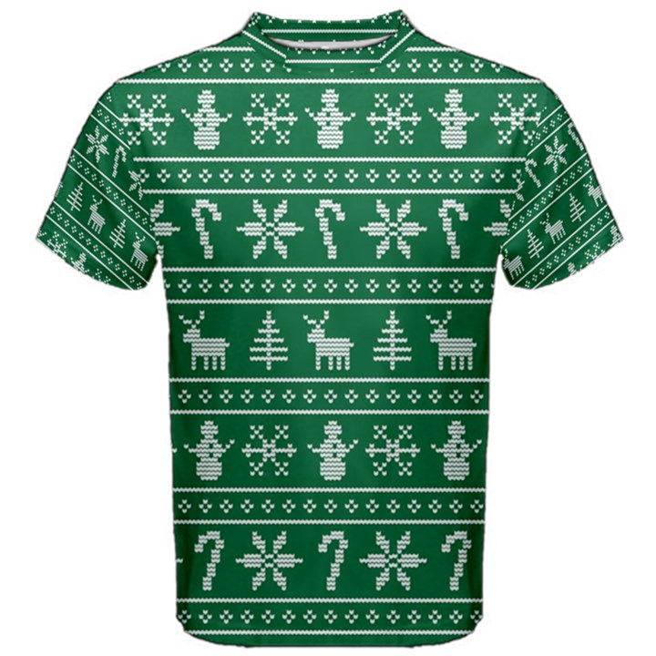 Ugly Christmas Men s Cotton Tee