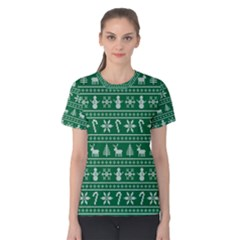 Ugly Christmas Women s Cotton Tee