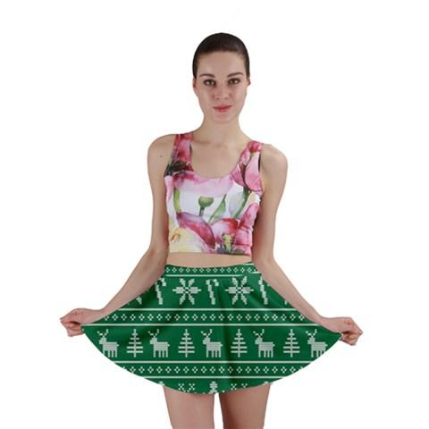 Ugly Christmas Mini Skirt