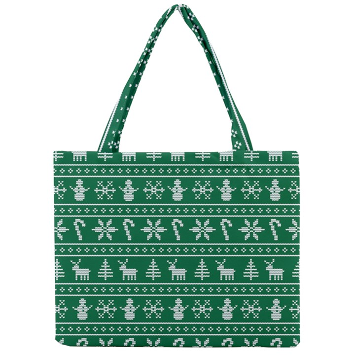 Ugly Christmas Mini Tote Bag
