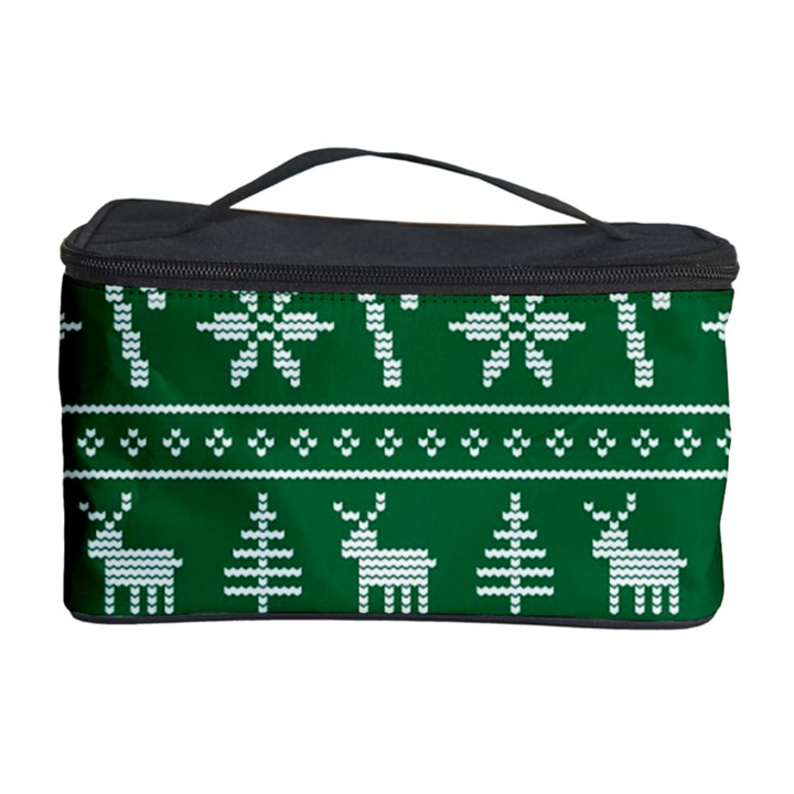 Ugly Christmas Cosmetic Storage Case