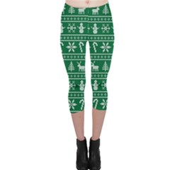 Ugly Christmas Capri Leggings