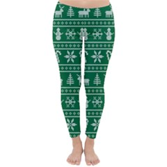 Ugly Christmas Winter Leggings