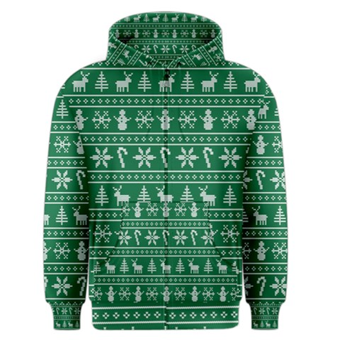 Ugly Christmas Men s Zipper Hoodie