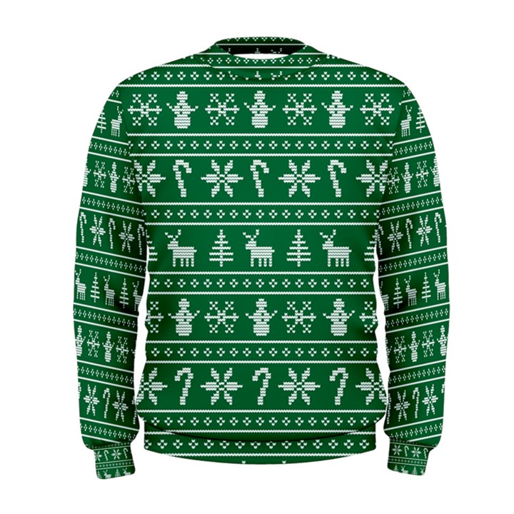 Ugly Christmas Men s Sweatshirt