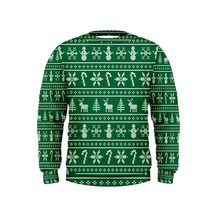 Ugly Christmas Kids  Sweatshirt