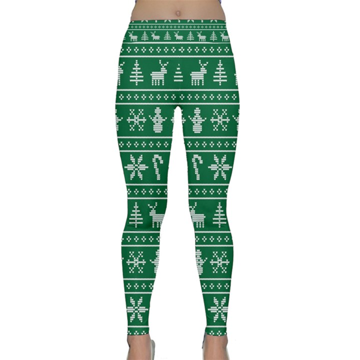 Ugly Christmas Yoga Leggings