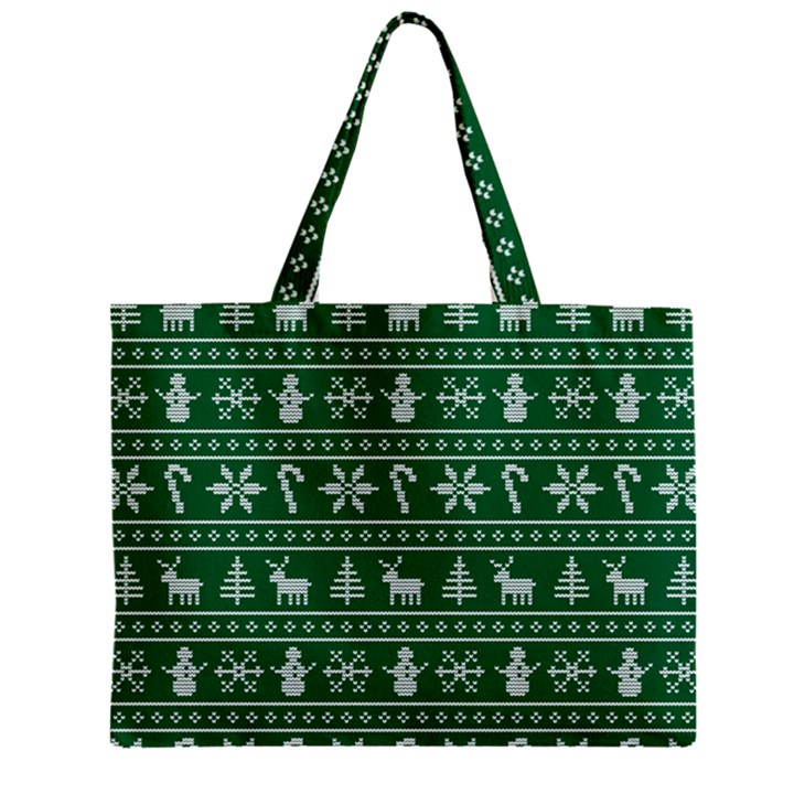 Ugly Christmas Zipper Mini Tote Bag