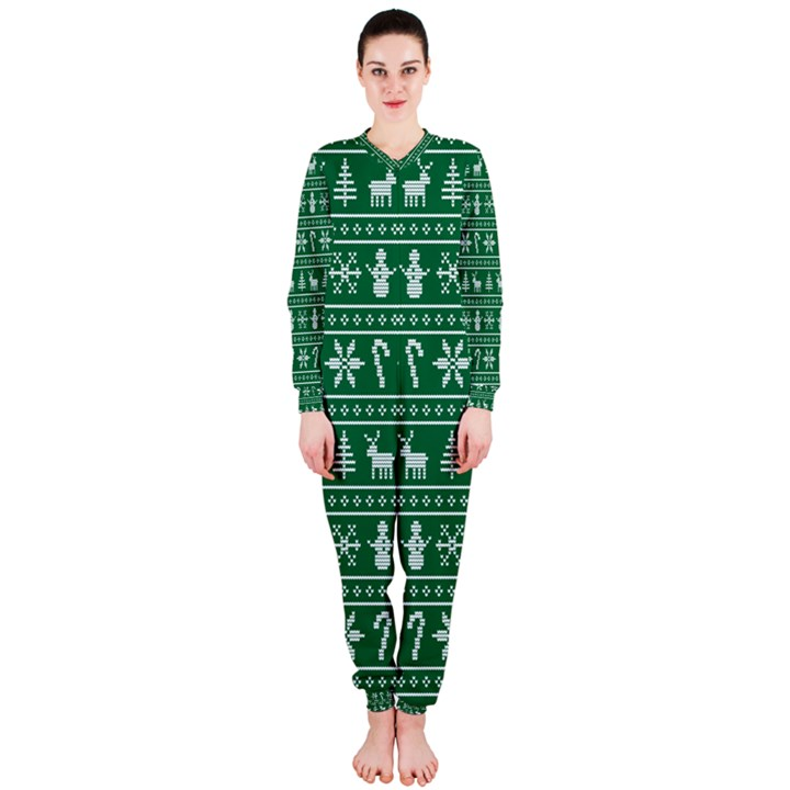 Ugly Christmas OnePiece Jumpsuit (Ladies)