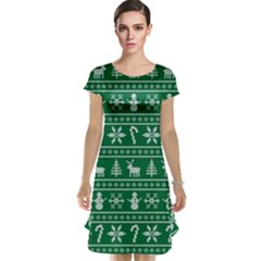 Ugly Christmas Cap Sleeve Nightdress