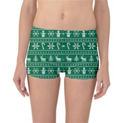 Ugly Christmas Reversible Boyleg Bikini Bottoms