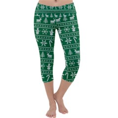 Ugly Christmas Capri Yoga Leggings
