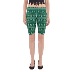 Ugly Christmas Yoga Cropped Leggings