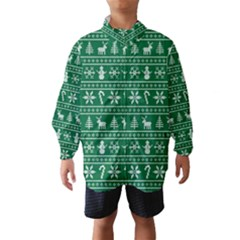 Ugly Christmas Wind Breaker (kids)