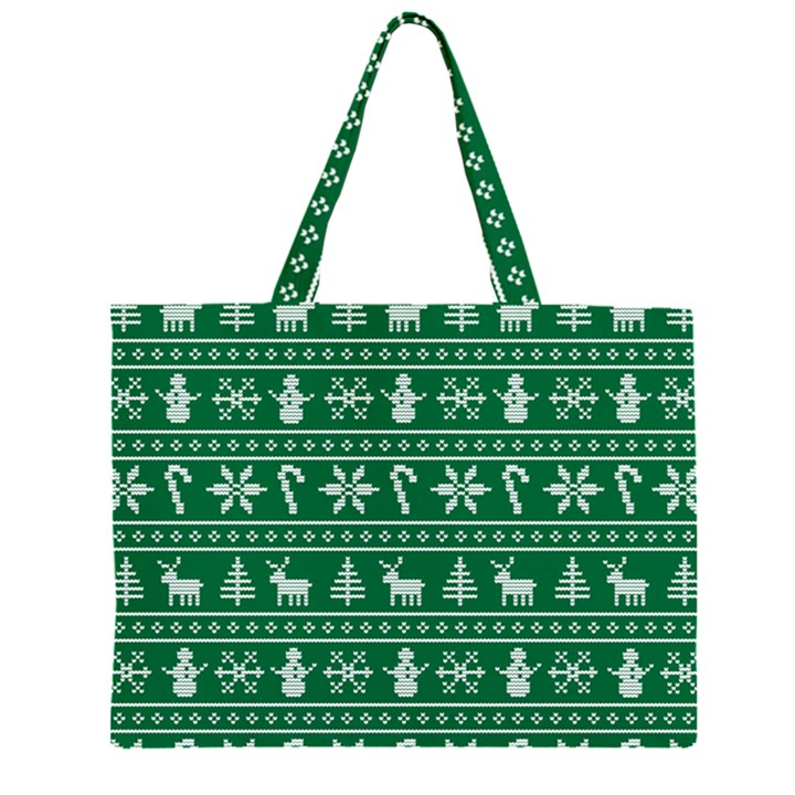 Ugly Christmas Large Tote Bag