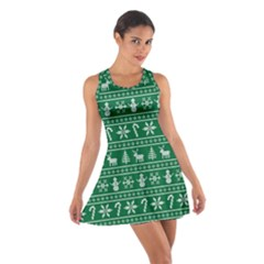 Ugly Christmas Cotton Racerback Dress