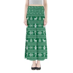 Ugly Christmas Maxi Skirts