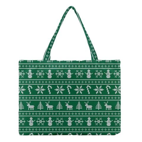 Ugly Christmas Medium Tote Bag