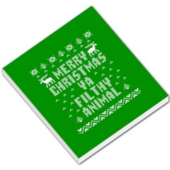 Ugly Christmas Ya Filthy Animal Small Memo Pads