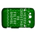 Ugly Christmas Ya Filthy Animal HTC Wildfire S A510e Hardshell Case View1