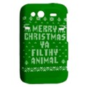 Ugly Christmas Ya Filthy Animal HTC Wildfire S A510e Hardshell Case View2