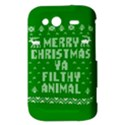 Ugly Christmas Ya Filthy Animal HTC Wildfire S A510e Hardshell Case View3