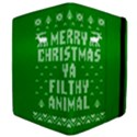 Ugly Christmas Ya Filthy Animal Kindle Fire (1st Gen) Flip Case View4