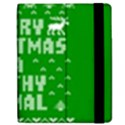 Ugly Christmas Ya Filthy Animal Apple iPad 3/4 Flip Case View2