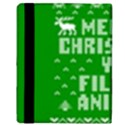 Ugly Christmas Ya Filthy Animal Apple iPad 3/4 Flip Case View3