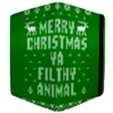 Ugly Christmas Ya Filthy Animal Apple iPad 3/4 Flip Case View4
