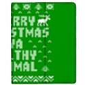 Ugly Christmas Ya Filthy Animal Apple iPad Mini Flip Case View1