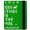 Ugly Christmas Ya Filthy Animal Apple iPad Mini Flip Case View2
