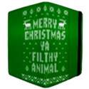 Ugly Christmas Ya Filthy Animal Apple iPad Mini Flip Case View4