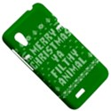 Ugly Christmas Ya Filthy Animal HTC Desire VT (T328T) Hardshell Case View5
