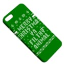 Ugly Christmas Ya Filthy Animal Apple iPhone 5 Hardshell Case with Stand View5