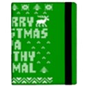 Ugly Christmas Ya Filthy Animal Samsung Galaxy Tab 10.1  P7500 Flip Case View3