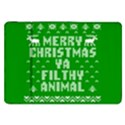 Ugly Christmas Ya Filthy Animal Samsung Galaxy Tab 8.9  P7300 Flip Case View1