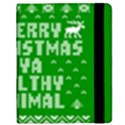 Ugly Christmas Ya Filthy Animal Samsung Galaxy Tab 8.9  P7300 Flip Case View2