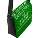 Ugly Christmas Ya Filthy Animal Flap Messenger Bag (L)  View2