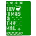 Ugly Christmas Ya Filthy Animal iPad Air Flip View1