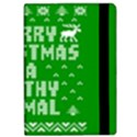 Ugly Christmas Ya Filthy Animal iPad Air Flip View2
