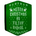 Ugly Christmas Ya Filthy Animal iPad Air Flip View3