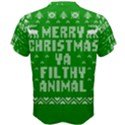 Ugly Christmas Ya Filthy Animal Men s Cotton Tee View2