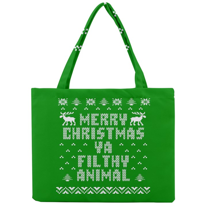 Ugly Christmas Ya Filthy Animal Mini Tote Bag