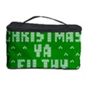 Ugly Christmas Ya Filthy Animal Cosmetic Storage Case View1